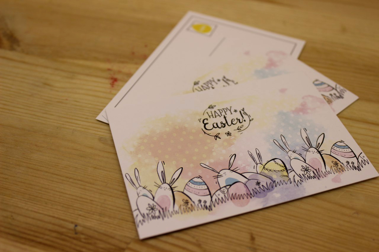 Готовые открытки из картона